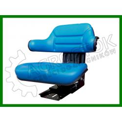 Siedzenie PVC niebieskie