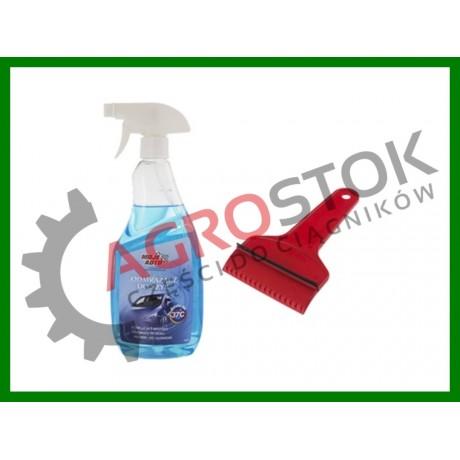 Odmrażacz szyb błyskawiczny 650 ml + skrobaczka GRATIS