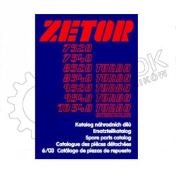 KATALOG CZĘŚCI ZETOR 7520-10540 ND 2/9
