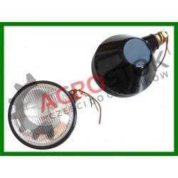 Lampa przednia okrągła URSUS C330 C360 + żarówka lewa
